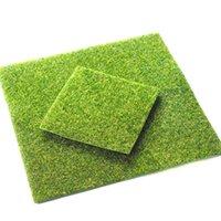 Yapay Çim Sentetik Çim Halı Sahte Moss Çim Mat Çiftlik Evi Bahçe Dekorasyon Açık Halı Peyzaj 15x15 cm 30x30 cm 1357 V2