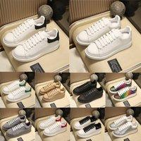 Designer Mens Womens Casual Schuhe 1: 1 Echtes Leder weiße Plattform Sneakers Wildleder schwarz Schwanz Velet Rücken erhöhen AAAAA-Trainer Dupe-Schuh mit Kastengröße 35-45