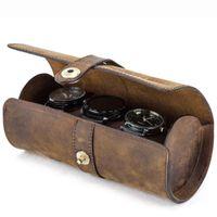 시계 롤 디스플레이 박스 가죽 여행 케이스 손목 시계 저장소 파우치 D88 보석 파우치, 가방