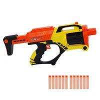Мягкая пуля игрушечный пистолет безопасное оружие EVA DARTS Круглая голова Blasters Детские образовательные игрушки Airsoft с 12 пулями CS Fighting