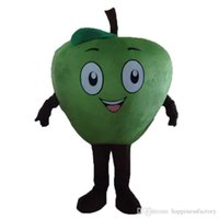 2018 Discount Factory Sale Little Red Apple Mascot Costume Cartoon Character Costume Adult Fancy Dress Halloween Carnival Costumes