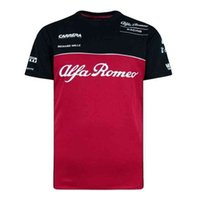 T-shirts One Race Hommes à manches courtes et des sports extérieurs d'enthousiasme extra-routes de la route T-shirt Summer F1 Alfa Romeo Team Formula