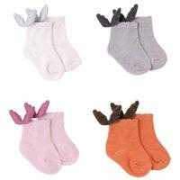 design baby socks combed cotton angel wing toddler socks fashion breathable kids girl cute socks 3091 Q2