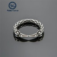 Cluster Rings Nordic Viking Jewelry Hip Hop Solid Stainless Steel Eagle Beak Ring Men Boy Birthday Party Gift For Boyfriend Drop