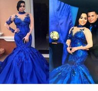 New Arrival Mermaid Evening Dress High Neck Custom Made Women's Prom Dress Special Occasion Formal Wears