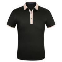 Рубашка Мужская футболка с короткими рукавами Мода Один отворотный куртка Спортивная одежда Пытный костюм M-3XL