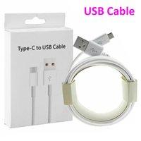 2021 휴대 전화 케이블 1m 3FT USB 유형 C 마이크로 케이블 삼성 갤럭시 S 7 8 9 10 참고 소매 상자가있는 안드로이드 폰