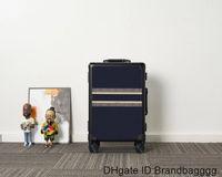 Hohe Qualität Überschie Reise Koffer Gepäck Plaid Blume Air Box Mode Männer Frauen Kofferraum Tasche Buchstaben Geldbörse Rod Boxs Spinner Universal Rad Duffel Taschen