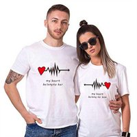 Family Matching Outfits Big Size M-4XL Couple Summer Clothes Letter Printing Tshirts Mom Dad Matches Clothing 100% Cotton Tshirt