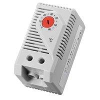 Akıllı Ev Kontrolü Mekanik Termostat, KTO011 0-60Celsius Ayarlanabilir Kompakt Normalde Kapat (N.C) Sıcaklık Kontrol Anahtarı, Kırmızı