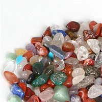 الجملة 100 جرام مختلطة هبوط الأحجار كوارتز بلورات السائبة الأحجار الكريمة الطبيعية الصخور البلورات المعدنية شفاء reiki حديقة الديكور 591 r2