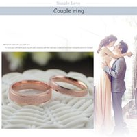 Cluster Rings Mens Accessories Jewelry Women Ring Stainless Steel Wholesale Boho Couple Wedding Gypsophila Rose Gold
