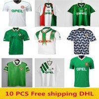 Retro Vintage 1988 1990 1992 1994 1994 1996 Soccer Jersey جمهورية أيرلندا لكرة القدم قميص وطني 90 كأس العالم الشمالي 1993