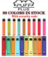 Puff bar Plus 80 Couleurs jetables Vape Pen Dispositif 550mAh Batterie 800 Puffs 3.2ml Barres Prérublée XXL Double Stick Bang Air Lux
