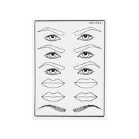 Dauerhafte Augenlid Augenbraue Lippe Makeup Tattoo Praxishaut für Anfänger Permanent Makeup Tattoo-Praxis für Anfänger Ausgezeichnete kosmetische