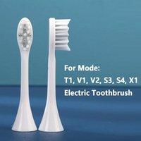 Sostituzione Testa dello spazzolino da denti Sonic per T1 / V1 V2 S3 S4 X1 Teste elettriche Soft Acquista 2pcs Ottieni 1 PZ Smart