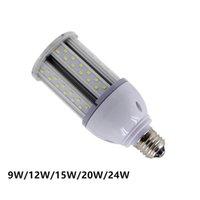 Super Bright 5730 SMD 9W 12W 15W 20W 24W Кукурузная лампочка E27 База 110 В 220 В теплые чистое белое светодиодное освещение
