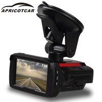 Caméra DVR de voiture Dash Cam Trois dans un enregistreur Machine GPS Dog électronique Dog Speed Speed Radar Vidéo Vue arrière Caméras Capteurs de stationnement