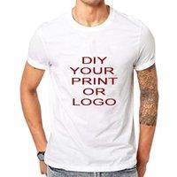 Camisetas para hombre Camisetas personalizadas Impresión de la impresión de manga corta DISEÑO PROPIO PRIMERO T-ARTHTS CASOS TOPS AÑADIR SU PO DIY