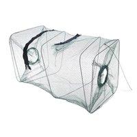 Fishing Accessories High Quality Mesh Trap Shrimp Traps Crab Fish Crawdad Minnow Bait Cast Dip Net Cage Z0611