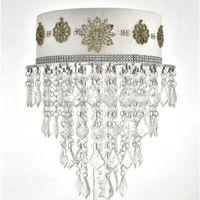 Cristal Chandelier Pastel de pastel Acrílico Magdalena Soporte Tabla de boda Centros de mesa decoraciones