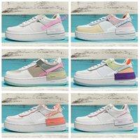 Moda color contraste damas zapatos casuales mujeres zapatos de entrenamiento de soledad gruesa de ocio zapatillas de deporte para estudiantes mujeres