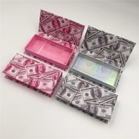 30 40 Pcs Eyelash Packaging Box Wholesale Lash Boxes Packaging 25mm 3D Mink Lashes Package Empty Eyelashes Case Bulk