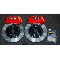 Ön Fren Kiti 6 Piston Kumpas Dövme Vücut 355x32mm Oluklu Disk Rotor Accord 2012-2021 18/19 inç