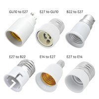 Lamphouders Bases B22 GU10 E27 E14 LED-lamp Base Converter Light Extender Fireproof Materiaal Conversie Socket Adapter Houder