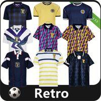 Jersey de football rétro de la Coupe du monde de 1978 1982 1991 1993 1998 1998 1988 1989 91 92 93 95 96 98 Maillots Classique Vintage Vintage Hendry Lambert Football Shirt