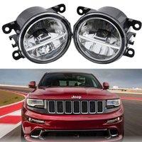 2шт автомобиль Front LED DRL Daytime Right Light Fight Fight Assembly для Jeep Grand Cherokee 200-2007 Fog Light