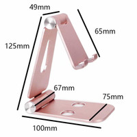 Cell Phone Mounts & Holders Foldable Aluminium Alloy Desk Table Tablet Mobile Stands For Galaxy Note9 J8,Oppo F9 Pro,ZTE Nubia Z18,Axon 9 Pr