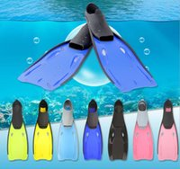 Juvenile swimming training fins adult equipment long fin deep diving outdoor snorkeling three treasures light frog shoes