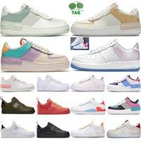 Nike Force one 1 Af1 air force 1 one af1 dunk dunks Breathe schwarz weiß gelb rot Herren Schuhe Turnschuhe Frauen Laufschuhe Herren Sportschuhe Walking Designer Schuhe