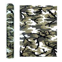 Window Stickers Leopard Pattern Tpu Heat Transfer Iron-on Htv Press Cricut Film For T-shirt Textiles Clothing Shoe Bag Sticker Diy