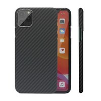 Carbon Fiber Case for iPhone X XS Max XR 7 11 12 Mini Cases Aramid Fiber Ultra Thin Phone Cover for iPhone 12 11 Pro Max SE Case G0929