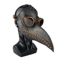 Punk Cuir Plague Masque Masque Birds Cosplay Carnaval Costume Props Mascarillas Party Masquerade Masques Halloween 1060 B3