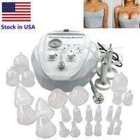 Estoque em EUA Vácuo Massagem Terapia Alargamento Bomba Levantando Massager Massager Massager Busto Copo Modelo de Beleza FedEx