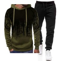 Terno Traseiro HOODIE HOWNS'S SPLASH Tinta na moda Printing Moda Sweater manga comprida Plush Sportswear Wear