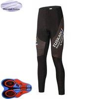 2021 зимняя мужская эускади команда велосипедные брюки термический флис велосипедные колготки спортивная одежда 9D гель мягкие длинные брюки велосипедные одежды брюки Y21033117
