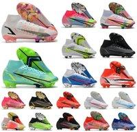 2021 Superfly 8 VIII 360 ELITE FG Soccer Chaussures XIV DRAGONFLY CR7 RONALDO ELLEPPULES IMPULES PACK MDS 04 14 DREAM VITESSE 4 MENS FEMMES GARÇONS Bottes de football High Bottes Tarcles US3-11