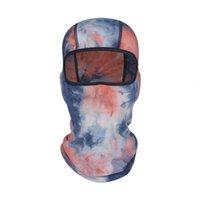 Bonnet d'hiver du lait de robe-vêtue Teinture d'hiver Cadeau Colory Balaclava Case de Ski Headrear pour unisexe