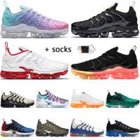 Nike Air Vapormax Plus Off Beyaz Erkek Koşu Ayakkabısı BEDEN US 13 Spor Eğitmenleri Pastel Fresh Üçlü Siyah Kiraz Açık Bone Soğuk Gri Spor Ayakkabı 36-47