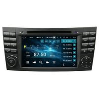 """CarPlay & Android Auto DSP 2 DIN 7"""" PX6 Android 10 Car DVD Stereo Radio GPS for Mercedes-Benz E-Class W211 E200/E220/E240/E270/E280 CLS Class W219 CLS-350/CLS-500/CLS-55"""