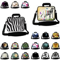 Fasion Laptop Messenger Handle Briefcase Neoprene 10 12 13 14 15 17 15.6 13.3 11.6 Inch Notebook Chromebook PC Case Pouch Retail Cases & Bac