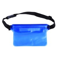 Outdoor Bags Waterproof Pouch Phone Case Screen Touch Sensitive Dry Bag With Adjustable Ties For Swimming Diving Boating Fishing Beach