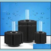 Diğer Akvaryumlar Pet Malzemeleri Ev Gardenquatic Organizmalar Pratik Biyokimyasal Pamuk Filtrasyon Akvaryum Balık Tankı Gölet Sünger Filtre MA