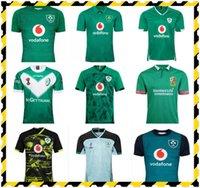 최고 2019 2020 2021 아일랜드 럭비 유니폼 티셔츠 홈 멀리 럭비 리그 저지 20 21 셔츠 S-5XL