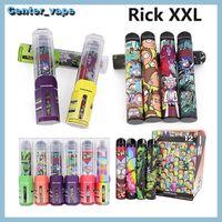 RICK XXL Tek Kullanımlık Vape Pen R ve M 2000Puffs 800mAh Power Pil 6 ML Pods Kartuşları Buhar VS Bang XXL