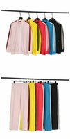 palm tracksuit designer tracksuits suits angles angels zipper hoodies sweatshirts long pants joggers trousers pant stripe casual suit zip neck P6Zl#